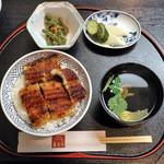 炭焼うなぎ 喜多川 - 料理写真:上うなぎ丼