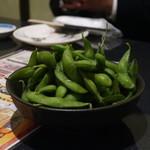 大森個室居酒屋 名古屋料理とお酒 なごや香 - おつまみ枝豆