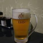 大森個室居酒屋 名古屋料理とお酒 なごや香 - 生ビール