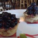 湯島食堂 - カシスとブルーベリーのタルト