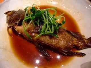 大阪産(もん)料理 空 - 漁師さんから毎朝頂くガシラの煮付け。