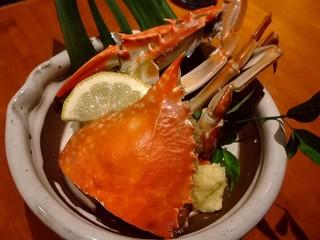 大阪産(もん)料理 空 - 夏は毛蟹、冬は渡り蟹がおススメです。