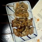 味彩 ぜん - 豚マヨ3、ホタテマヨ3