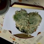 味彩 ぜん - 納豆の大葉天