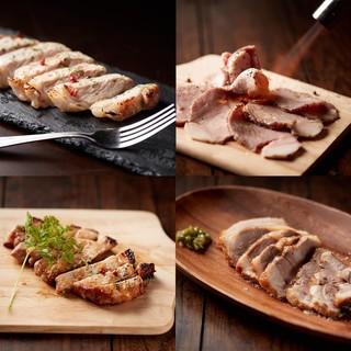 地産地消!沖縄野菜、食材、県産ブランド豚「キビまる豚」!