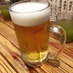 86893480 - 「生ビール」(583円)