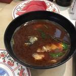 廻鮮寿し丸徳 - 料理写真:赤だし
