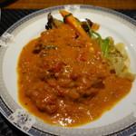 プールトワ - 鶏肉のリヨン風煮込み