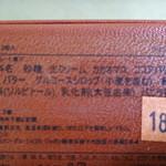 ラ・メゾン・デュ・ショコラ - アタンション原材料