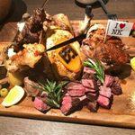 肉バル 肉ソン大統領 - 「肉ソン・肉肉肉盛り合わせ」5,800円