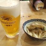 86894831 - 早朝から飲む生ビールのうまいこと!!