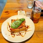 Mr.FARMER - アボカドベーコントーストモーニング(918円)