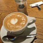 LATTE GRAPHIC - めっちゃ美味しいコーヒーでした