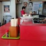 再来軒 - お店、内観。昭和ですね~。