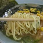 ラーメンショップ - 麺アップ