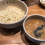麺屋吉左右 - 味玉つけ麺1,000円