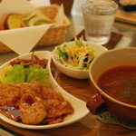 もんもん - 料理写真:スープランチ