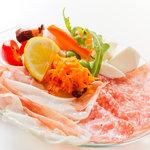ピッツァ リディア - 料理写真:欲張りな本日の前菜盛り合わせ