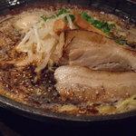 麺屋 蔵人 - 味噌トンコツガツン1,030円。