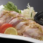豚料理専門店 銀呈 - 冷しゃぶサラダ定食【新味】上海ソース