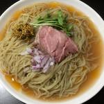 超純水採麺 天国屋 - 2018/6/2限定・冷やし海老汁麺(900円)