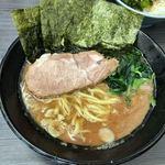 桜道家 - 料理写真:ラーメン並 650円(固め濃いめ多め)