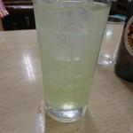 すゑひろ - 酎ハイライム。