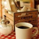 ジェムズ バーガー - セットのコーヒー