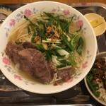 ベトナム料理 アオババ - 牛すね肉のフォー