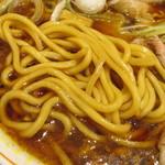 サバ6製麺所 - 中太麺