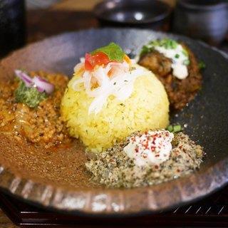 旧ヤム邸 シモキタ荘 - 料理写真:ぜんがけ