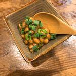 天竜 - 納豆のオイル漬け