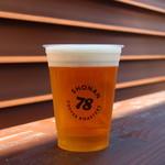 丸焼きたこせんべい - 生ビール