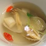 巧匠 - 巧匠 @目黒 ランチ 巧匠セットの薬膳スープ