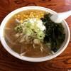 らーめん亭 - 料理写真:野菜しょう油コーンワカメらーめん¥750