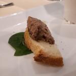 リストランテ カーザ・アルべラータ - 鶏肉のレバーパテ