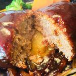 キッチン櫻庭 - 中の肉汁もたっぷり♪柔らか過ぎず固すぎず絶妙