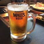 焼肉小僧 - 飲み放題のビール
