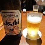 YASAKA - 中瓶ビール500円