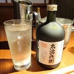 YASAKA - 焼酎太治兵衛ボトル2,300円