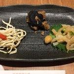 中国薬膳料理 星福 - 星 前菜3種盛り合わせ