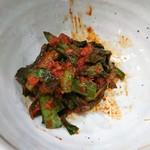 Ramenfukurou - ニラキムチを別皿で