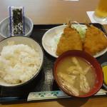 勝ちゃん - アジフライ定食