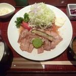 豚肉創作料理 やまと  - '18/06/02 生姜焼き御膳(税込1,200円)