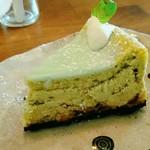 86922751 - チョコミントチーズケーキ