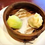 中華料理 ハルピン - セットの点心2種