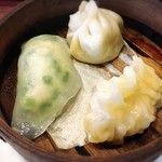 中華料理 ハルピン - 点心3種盛り