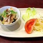 中華料理 ハルピン - セットの前菜2種