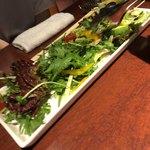 furawa-shinsunisenjuuyon - エビとアボカドのサラダ