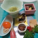 紀州料理 あおい茶寮 - 料理写真:前菜です